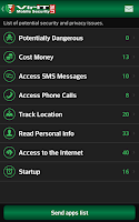 Screenshot of VirIT Mobile Security