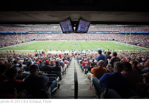 'The Texans at Reliant Park' photo (c) 2012, Ed Schipul - license: http://creativecommons.org/licenses/by/2.0/