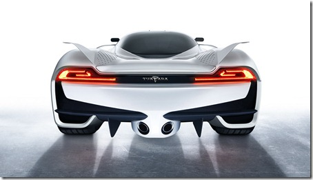 SSC Tuatara 1350HP Rear View