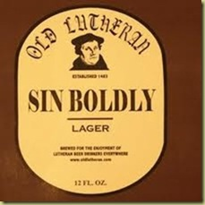 Sin Boldly Lager