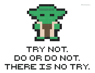 Free Yoda Cross Stitch Pattern