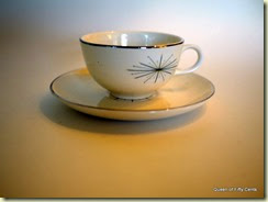 Homer Laughlin Modern Star teacup