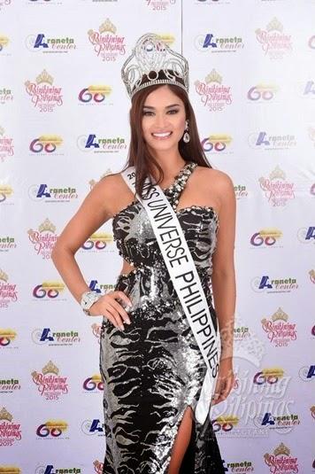Miss Universe Philippines 2015 Pia Wurtzbach