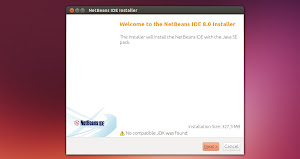 Oracle NetBeans IDE 8.0 in Ubuntu