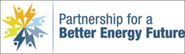 Logo for the antiscience industry group, 'Partnership for a Better Energy Future', which opposes regulation of greenhouse gases. Graphic: Partnership for a Better Energy Future