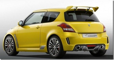 2012 Suzuki Swift Sport Concept Side view