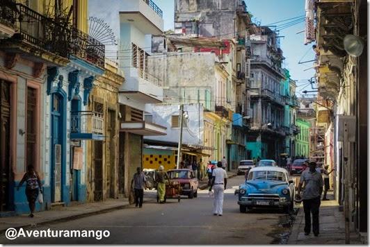 Ruas do centro de Havana