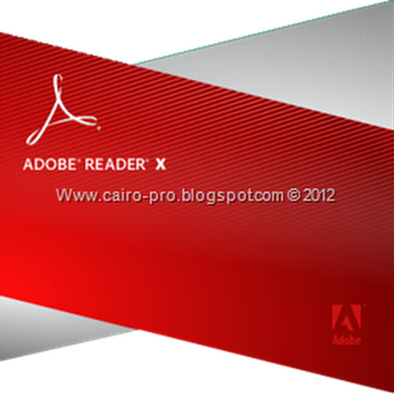Free Adobe Reader 10.1.3 برنامج قارئ الكتب