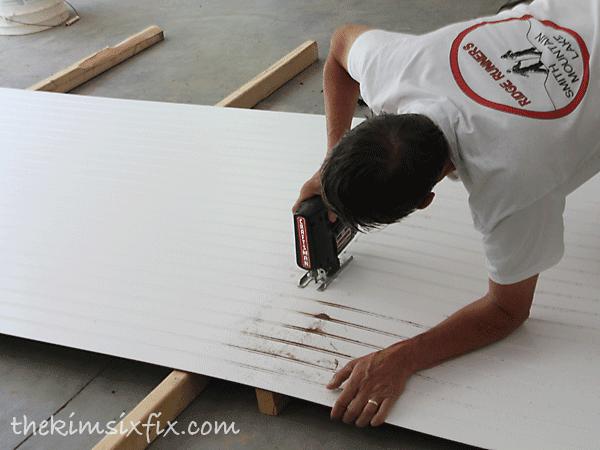 Cutting down beadboard