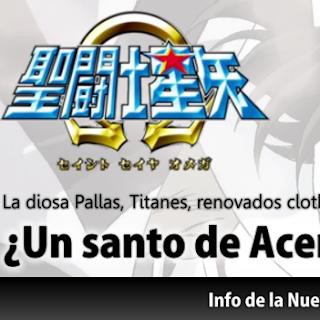 ¡Los Nuevos Personajes de la nueva Temporada de Saint Seiya Omega!