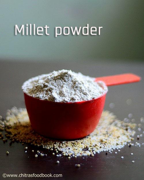 Millet energy mix powder