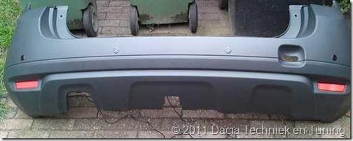 Parkeersensoren Dacia Duster 07