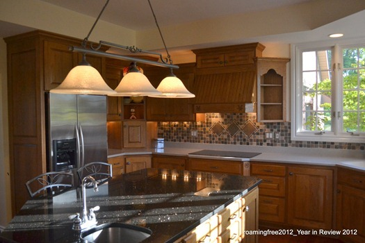 Tile Backsplash and Stainless Appliances