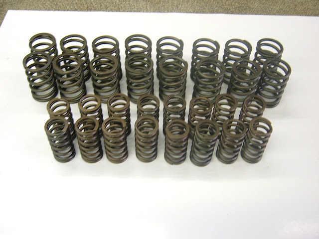 Valve springs, we have many different from stock to hi performance, 128.00 and up.