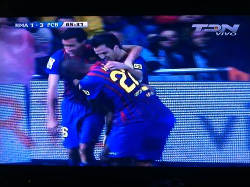 Real Madrid 1-3 FC Barcelona, Ahora vamos por el mundialito!!
