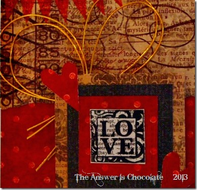 Recollections LOVE Card