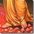 Sita's lotus feet