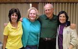 Apr. 30: Judy Feinberg, Sylvia Winters, Jerry Schultz, Linda Schultz