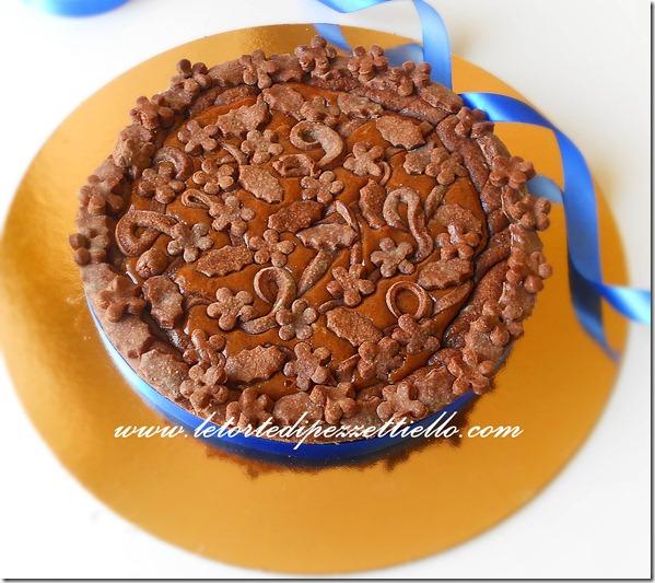 Crostata al cioccolato fulminea