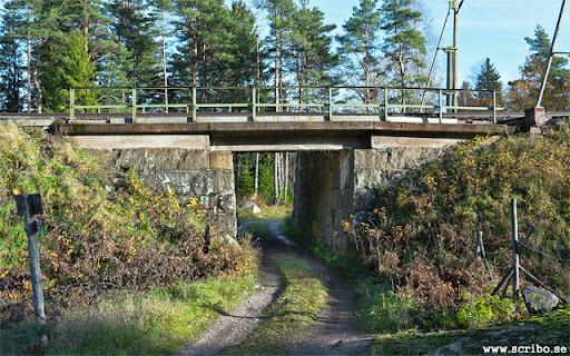 Tunneln under järnvägen vid Karlsro