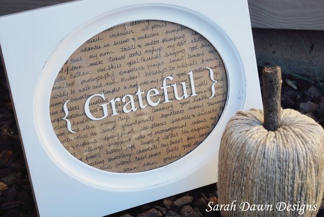 grateful frame