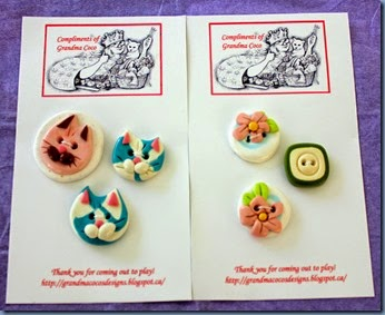 Grandma Coco's buttons