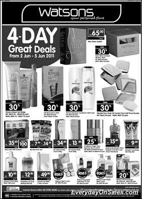 watsons-4days-promotion-2011-EverydayOnSales-Warehouse-Sale-Promotion-Deal-Discount