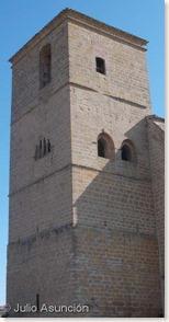 Torre de la iglesia de la Asunción - Villatuerta