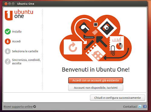 Ubuntu 12.10 - Ubuntu One