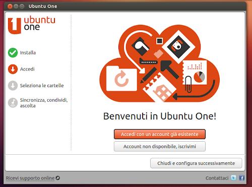 Ubuntu 12.10 - Ubuntu One