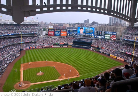 'Yankee Stadium Aug 12, 2009' photo (c) 2009, John Dalton - license: https://creativecommons.org/licenses/by-sa/2.0/