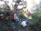 Camp area at Rengganis peak, Argopuro (Dan Quinn, December 2012)