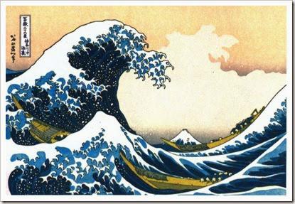 Hokusai - La grande onda
