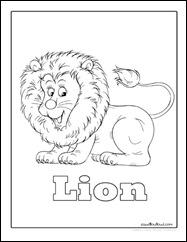 Lioncoloringpage