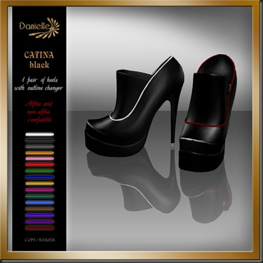 DANIELLE Catina Black'