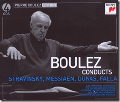 Stravinsky Boulez Sony