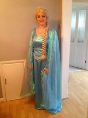 Beth as Princess Elsa