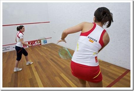 NAFFTA viste a la selección española de squash durante los próximos dos años.
