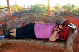 Very Early Sunrises = Time For A Great Nap - Yulara, Australia