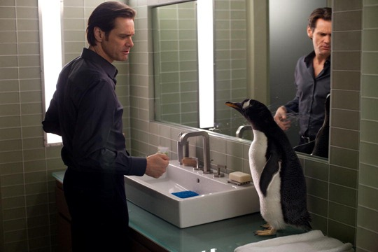 Jim Carrey Mr. Popper's Penguins