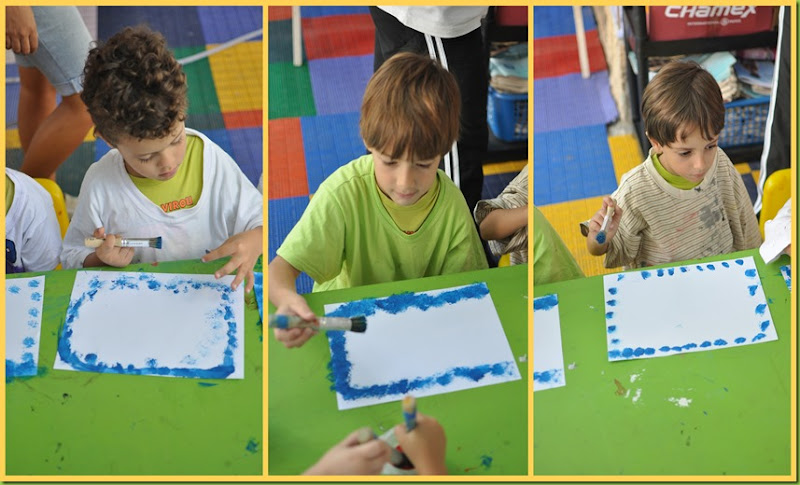 Infantil 5 Manhã - Pintura3