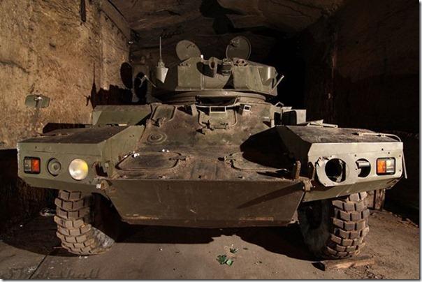 Francês da Primeira Guerra Mundial em um Bunker (13)