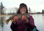 Photo sent by Pam and Rick - &quot;wide&quot; mouth trout?
