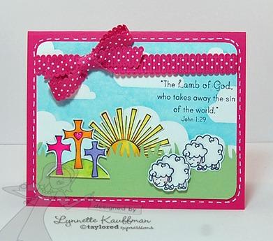 Lynnette Kauffman lamb of God