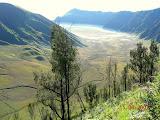 Tengger caldera from the drive to Ranu Pani (Wolfgang Piecha, June 2007)