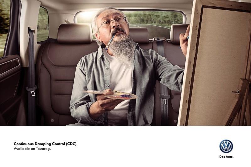 Volkswagen touareg painter ibelieveinadv