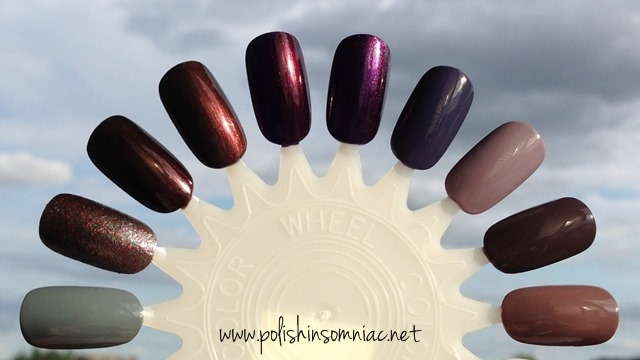 10 Nail Colors for Fall