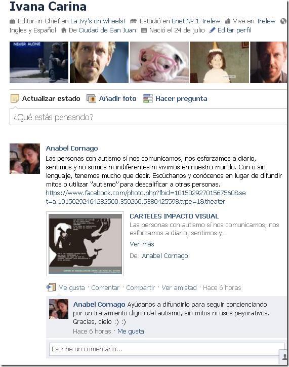 Campaña Autismo- Anabel - Facebook