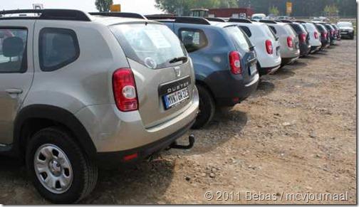 Dacia Duster meeting Kassel 2011 07
