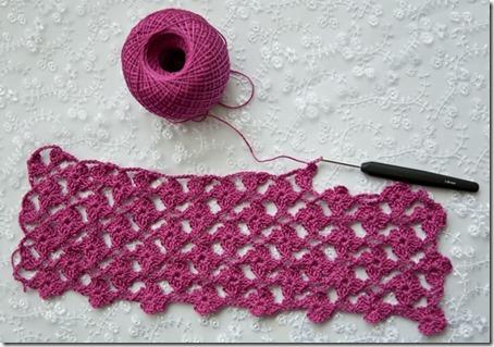 Floral Trellis Stitch Crochet